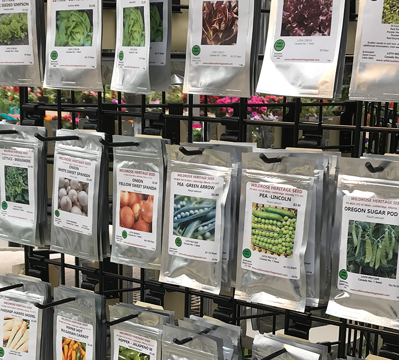 seeds bow valley garden centre canmore